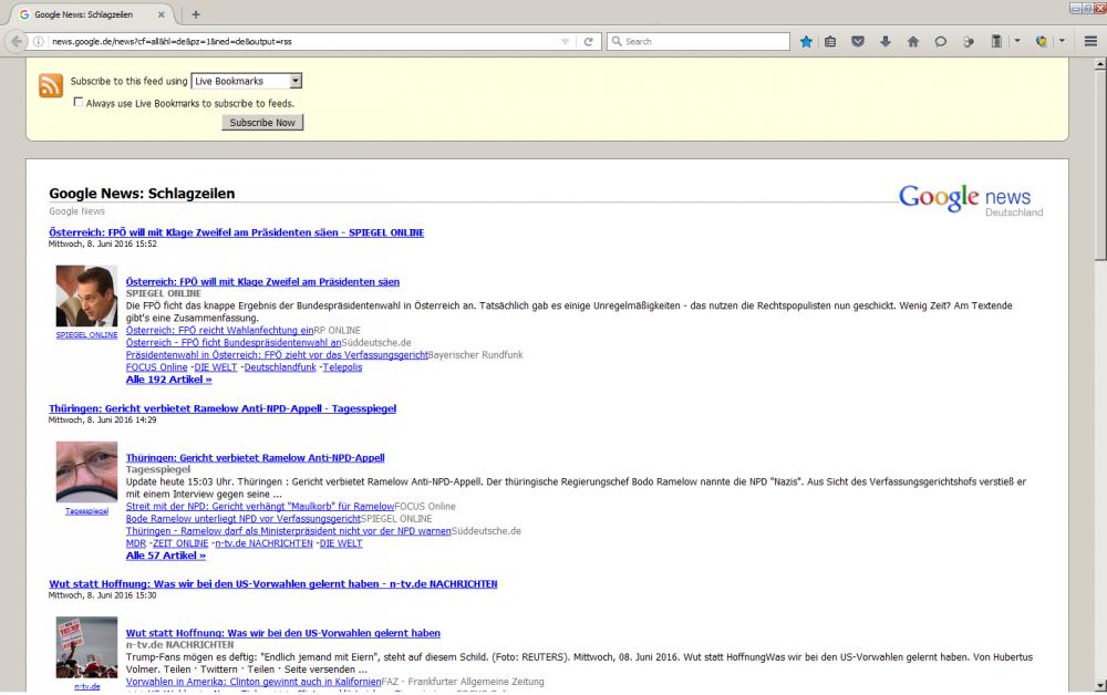 browser aktualisieren handy