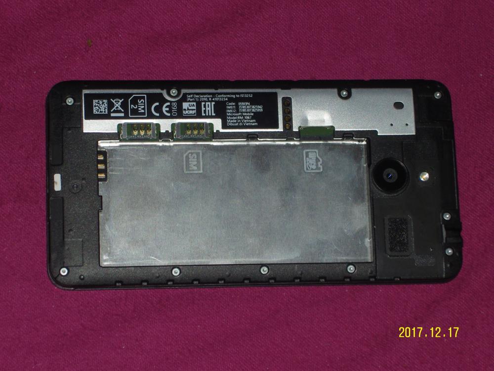 Lumia 640 - Rückseite.JPG